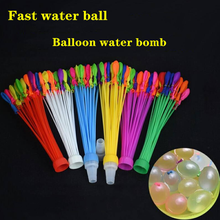 Latex water injection balloon summer water fight water bomb vent ball children's toy automatic sealing water polo