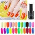 Inagla 8 мл флуоресцентный цветной лак для ногтей УФ светодиодный отмачиваемый лак Полупостоянный неоновый гель лак удачный Гибридный лак для ...