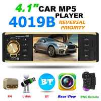1 Din Bluetooth Auto Radio Autoradio Radio Coche Auto Stereo MP5 Player 4,1 inch Auto Radio AUX USB FM Radio kopf Einheit