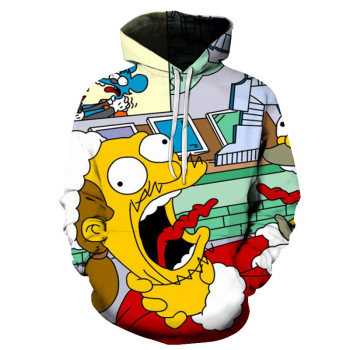 New Simpson Printed 3D men/women Hoodies Sweatshirts high Quality Hooded boys kids Jacket Novelty Streetwear Fashion Pullover 2