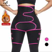 Lover Beauty Neoprene Sweat Body Shaper Legs Shaper Waist Shaper Fat Reduce Shaping Thigh Trimmer Butt Lifting Slimming Belt