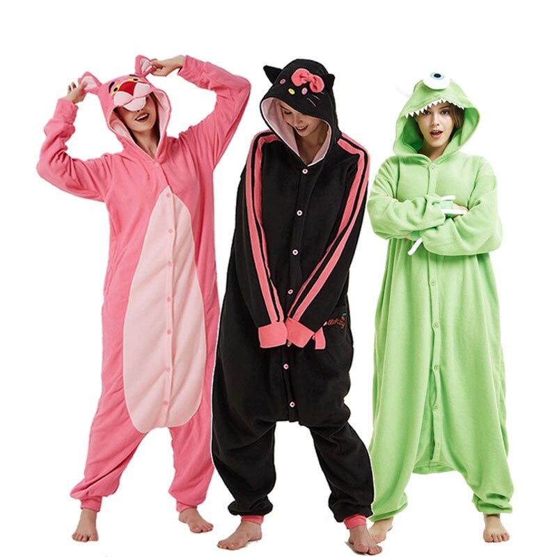 Xmas Adult Unisex Pajamas Kigurumi Cosplay Costume Animal Sleepwear Suit Gift