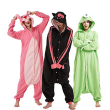 Unisex Kigurumi Onesie Women Adult Animals Pajama Funny Cute Home Jumpsuit Christmas Party Suit Festival Gift Cartoon Outfit