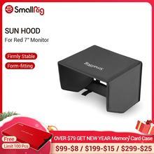 """SmallRig 7 """"モニター太陽フードサンシェード赤タッチ 7.0"""" LCD/レッドプロタッチ 7.0"""" 液晶/DSMC2 赤タッチ 7.0 """"液晶フード 2034"""
