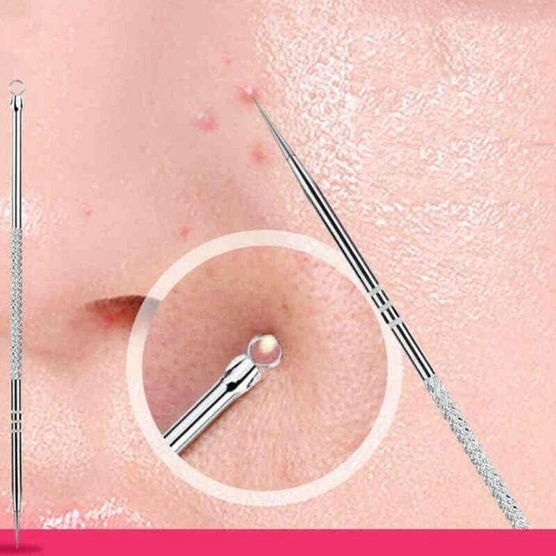 1PCS Blackhead Comedone Acne Pimple Blemish Extractor Remover Stainless Needles Remove Tools Face Health Skin Care Pore Cleaner