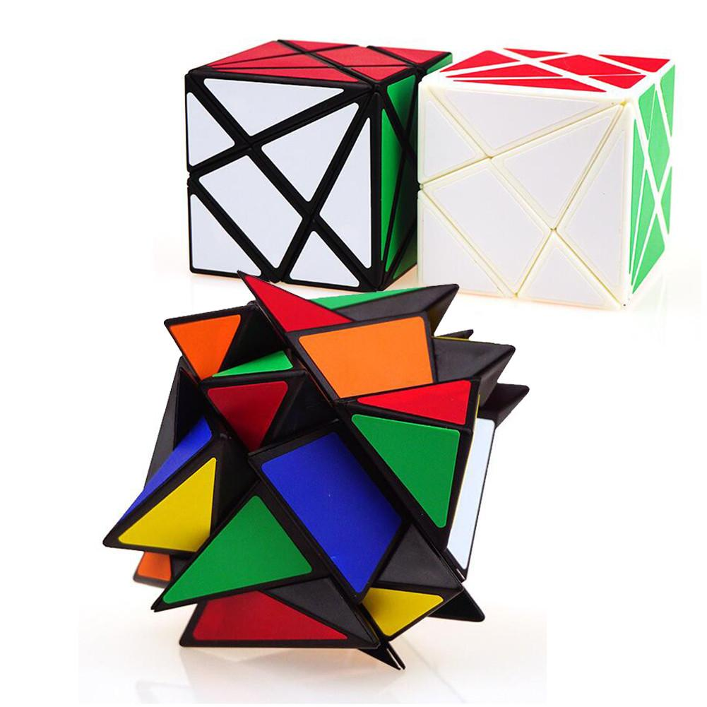 YongJun YJ Axis Magic Cube Change Irregularly Jinggang Speed Cube With Frosted Sticker YJ 3x3x3 Hot Sale
