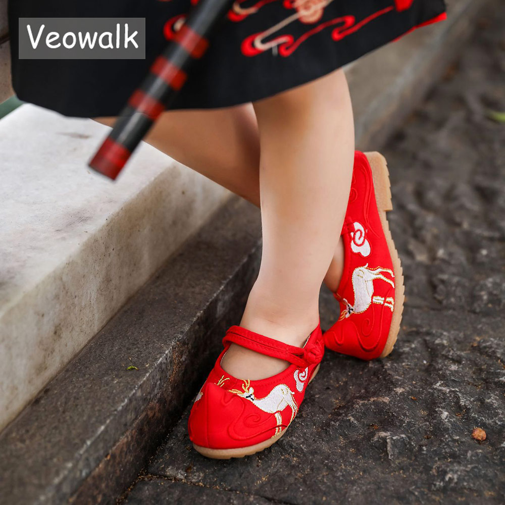 Little//Toddler Girls Shoes//Big Kids Charming Deer Girls Shoes Mary Jane Flats Princess School Ballet Bowknot Dress Shoes