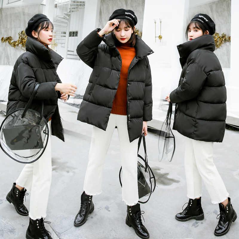 Boollili الشتاء سترة المرأة سترة معطف قصير المرأة الكورية المتضخم سترات النساء Abrigos Mujer Invierno 2020
