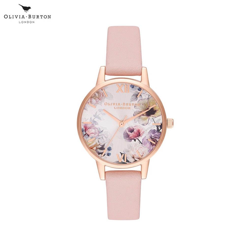 Наручные часы Olivia Burton OB16EG115 женские кварцевые на кожаном ремешке
