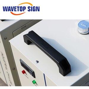 Image 5 - S & A CW5000 CW5200 CW5202 przemysłu woda powietrze agregat chłodniczy dla CO2 maszyna laserowa chłodzenia trzpień CNC 80W 100W 130W 150W Co2 rura laserowa