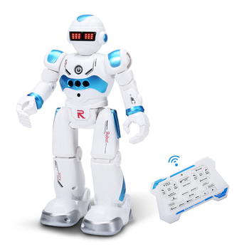 DEERC RC Robot Toy for Kids,Smart Gesture Sensing Remote Control Robot,Great Toys Gift for 3-8 Year Old Boys Girls 1