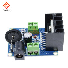 TDA7297 Amplifier Board 15W+15W 2.0 Channel DC 6-18V Audio Power AMP with Volume Control Sound Board for Speakers