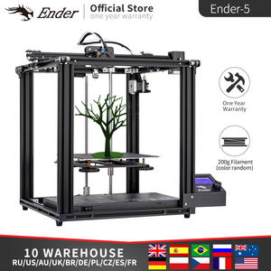 Image 2 - Ender 5 3D Printer High Precision Large Size Mainboard Cmagnetic Plate,Power Off Resume Easy Build Creality 3D Ender5