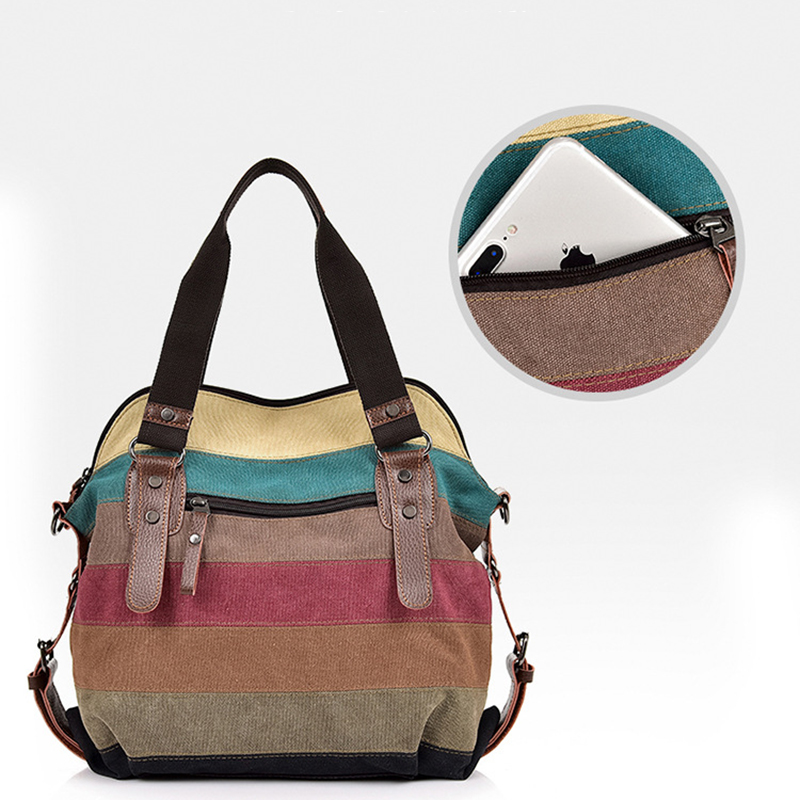 VIP Bag Womans Canvas Shoulder Bag 2020 Casual Women Handbag Ladies Fashion Luxury Designer Crossbody Bags Female Totes Bag 4