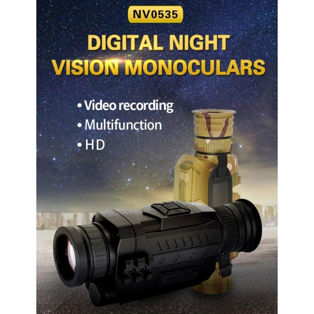 Noite-Visão 5X 8X Óptico Zoom Digital Vedio