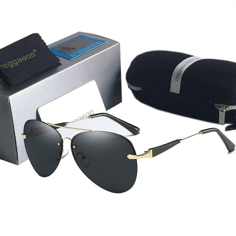 Novos óculos de sol marca polarizada designer óculos de sol masculino condução pesca ce homem uv400