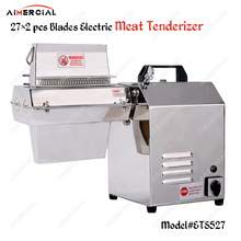 ETS527/MTS527 electric/manual professional meat tenderizer commercial stainless steel meat tenderizer machine  27×2 pcs blades цена