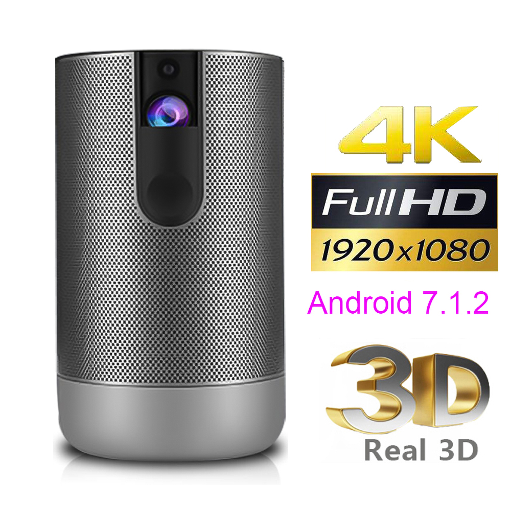 1080P 720 D29 Full HD проектор Android 7,0 (2 ГБ + 16 Гб) 5G Wi-Fi проектор DLP поддержка 4K 3D зум Видео Beamer