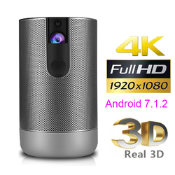 1080P 720P D29 Full HD Projector Android 7.0 (2G+16G) 5G wifi DLP Proyector support 4K 3D ZOOM video game Beamer