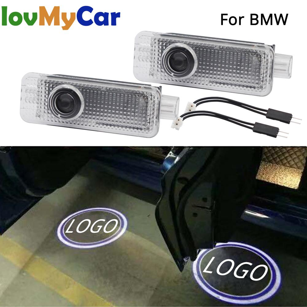 2X Car Led Door Light Welcome Projection Lamp Laser For BMW E90 E91 E92 E93 M3 E60 E61 F10 F07 M5 E63 E64 F12 Car Accessories
