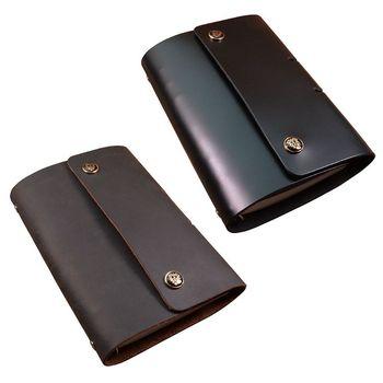 In Pelle A6 Notebook Sciolto Foglia Staccabile Fibbia di Business Diario di Viaggio Notepad XinXin's Store