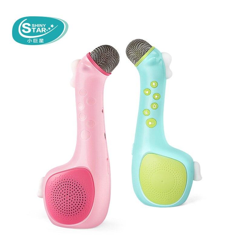 Enfants Microphone karaoké Machine à chanter sans fil Microphone bébé musique jouet garçons et filles portable KTV