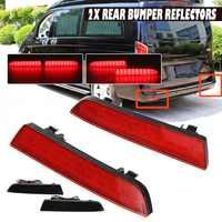 2 piezas LED Reflector de parachoques trasero foco antiniebla luces de freno Hoja reflectante para MERCEDES-BENZ Viano W447 14 -19