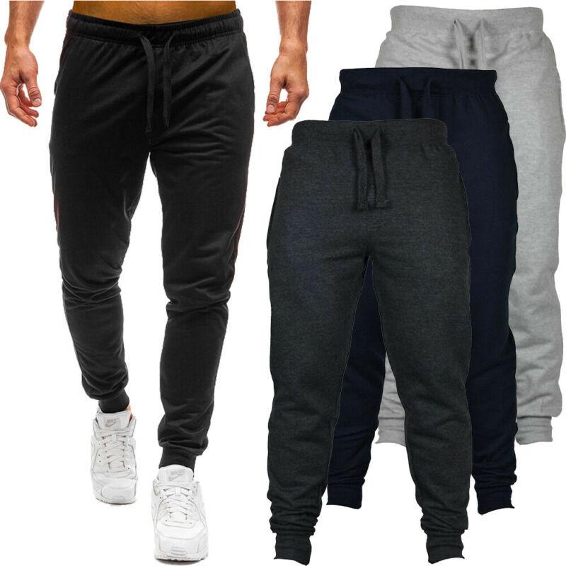 Slim Joggers Pants Gym Men Sweat Skinny Tracksuit Sport Hot Jogging Fit Trousers