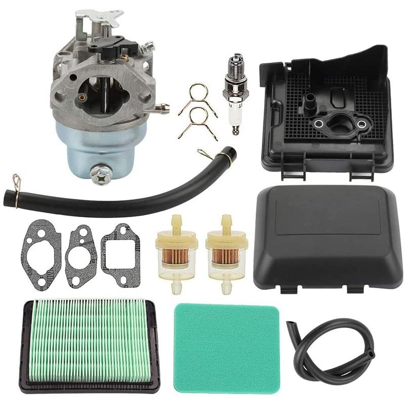 Reparação do carburador reconstruir filtros de ar da gaxeta para honda gcv160 gcv135 cortador de grama carb substituir 16100-z0l-003