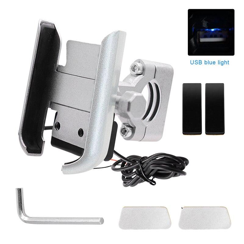2019 Motorbike Mirror/Handlebar Phone Holder Stand 360 Rotate Bracket For Universal Phones CSL88