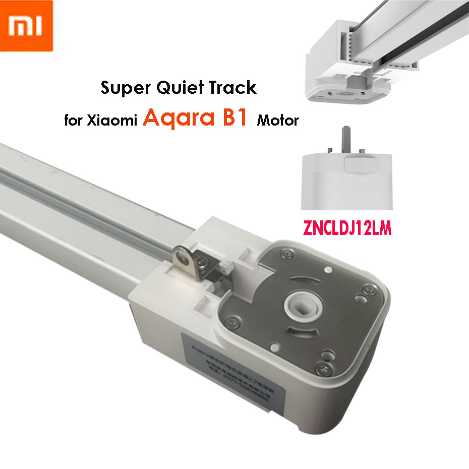Super Silent Electric Curtain Track For Xiaomi Aqara B1 Motor,Mi Home App Control,Mijia Automatic Curtain Rail System,Customized