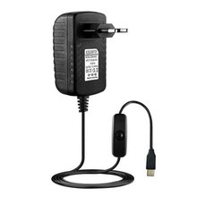 5V 3A Type-C USB AC/DC Wall Charger Adapter Power Supply Cord For Raspberry Pi 4 Model B Power Plug Adapter with Switch