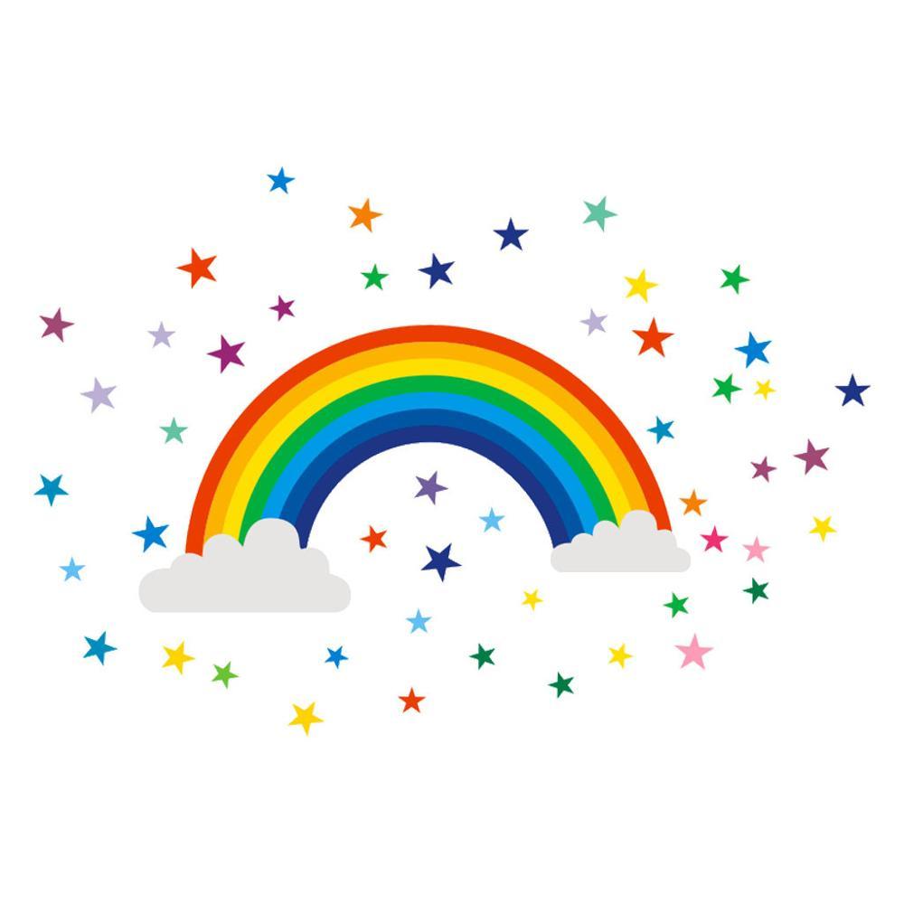 Звезда и радуга картинки