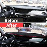פלוס uv כיסוי לוח המחוונים רכב מאטס להימנע אור רפידות Anti-UV Case אביזרים LHD עבור Changan CS35 2012 2013 2014 2015 2016 2018 2019 פלוס (3)