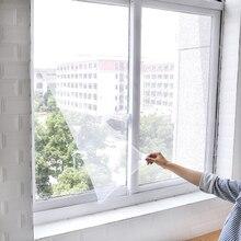 Мухи комары сетка на окно сетка экран комнатные занавески Москитная тюль занавес протектор Fly экран вставка случайный