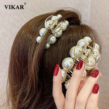 Новые Элегантные металлические когти для волос женщин и девочек
