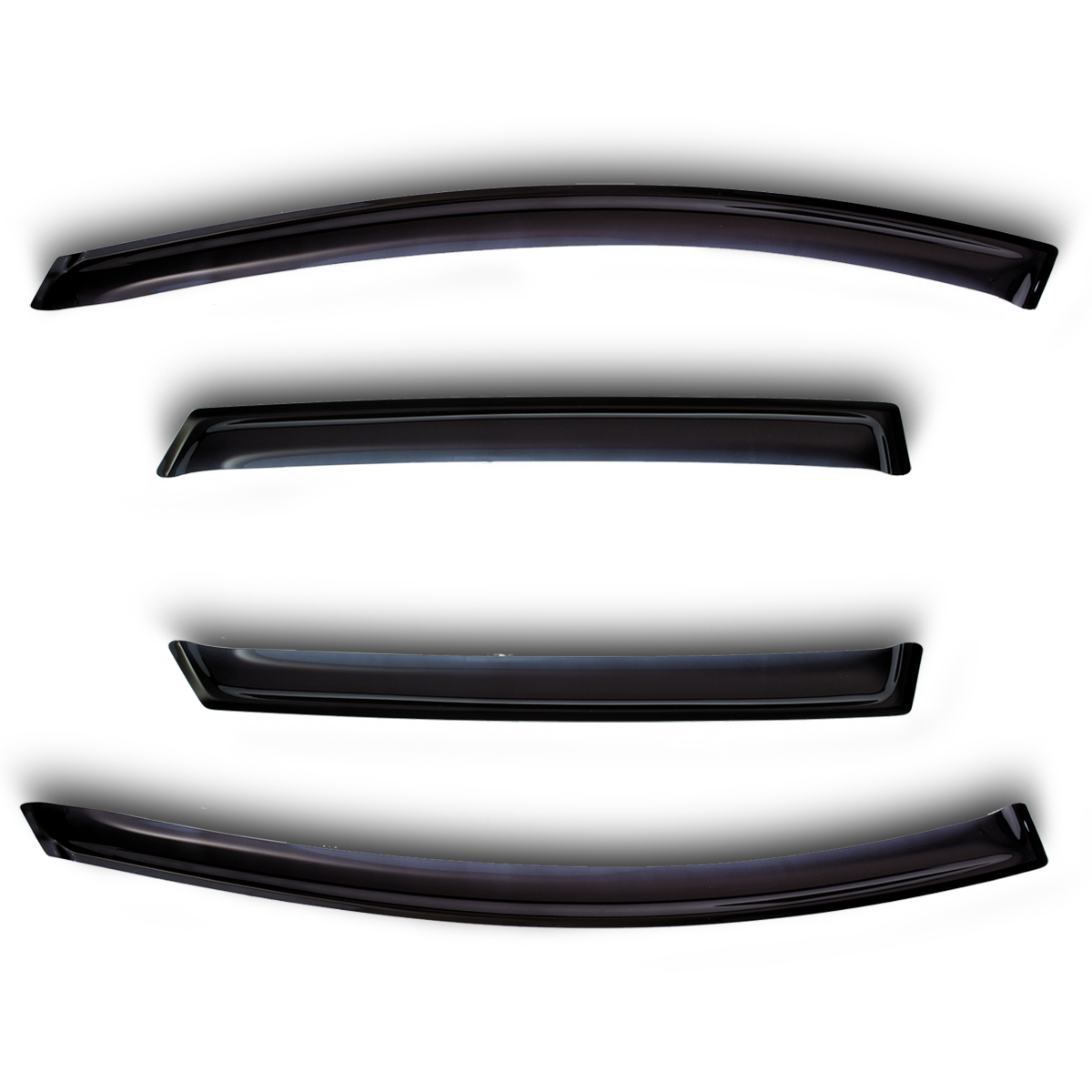 Window deflectors 4 door Great Wall Hover H6 2011 2017 (Great Wave hover) Awnings & Shelters     - title=