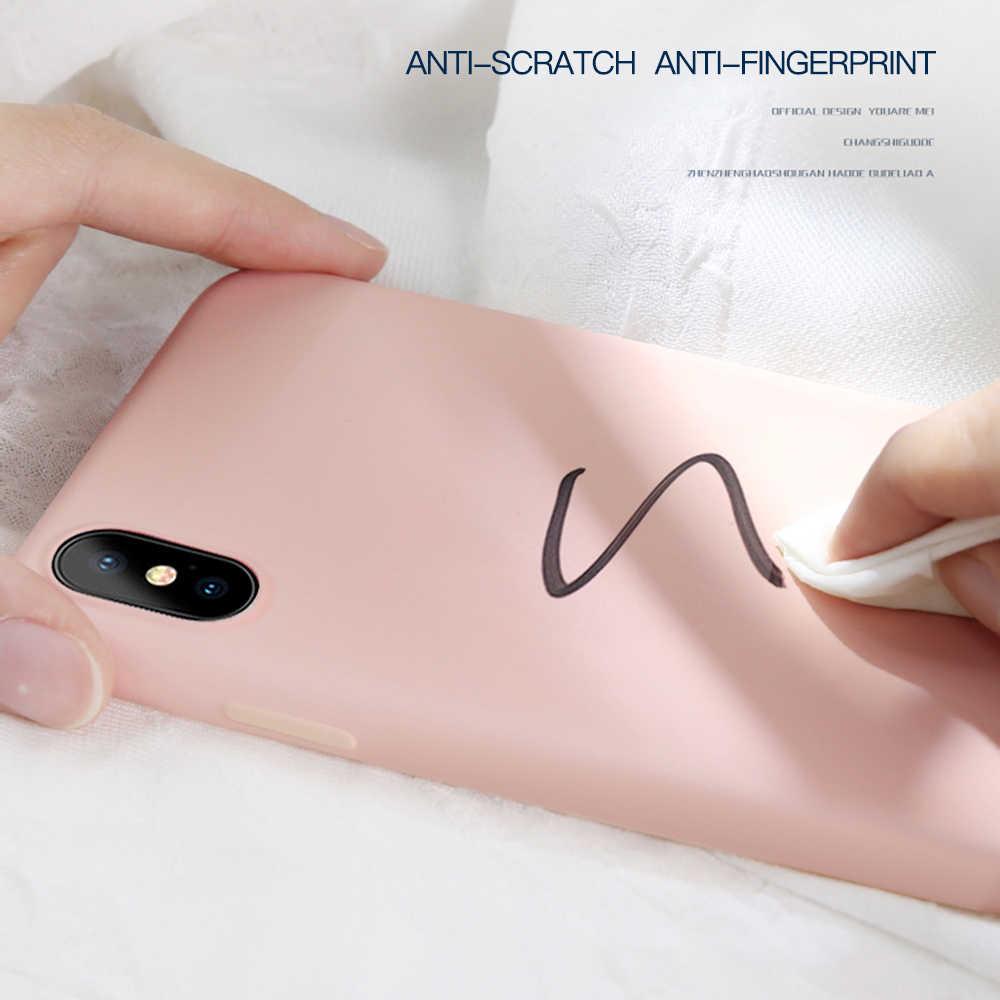 Silicone Lỏng Thin Cho iPhone 11 Pro 5.8 XS Max 6 6S 7 8 Plus X XR 5 5S SE 4S Chính Hãng Kẹo Full Bao Mềm Funda IPhone11