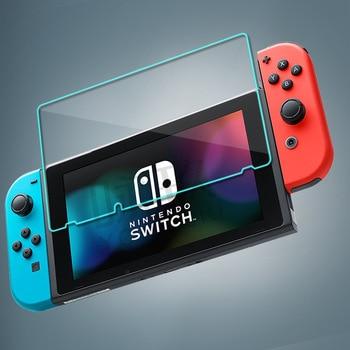 Nintendo Switch NS LCD ekran qorunması üçün ekran qoruyucusu cızıqlara qarşı qoruyucu örtük