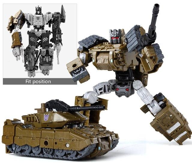 Bruticus 5 in1Transformer action figure toy model vehicle robot Vortex Brawl