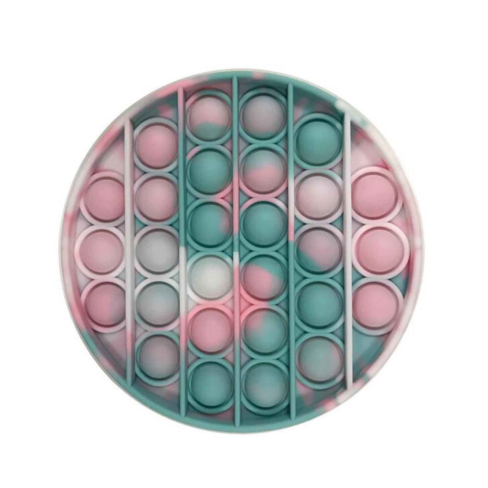 PopIt Hot Push Bubble Fidget Toys Adult Stress Relief Toy Antistress PopIt Soft Squishy Anti-Stress Gift Anti Stress Box ??? ??* img4