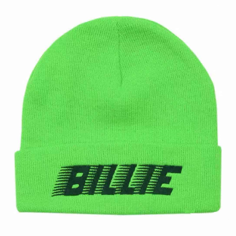 Letter Billie Eilish Cotton Casual Beanies For Men Women Knitted Winter Hat Solid Hip-hop Skullies Bonnet Unisex Cap