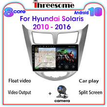 Car-Radio Gps Multimedia Android 10.0 Hyundai Solaris Video-Player Navigaion 2din 4g
