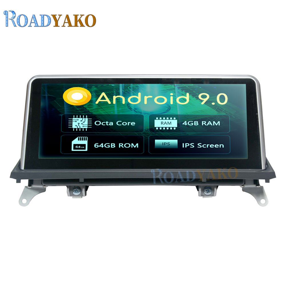 10.25'' Android 9.0 Car Navigation <font><b>GPS</b></font> <font><b>For</b></font> <font><b>BMW</b></font> X5 E70 F15 F85 <font><b>X6</b></font> E71 F16 F86 2007-2010 CCC Stereo Car Radio Video player 2 Din image