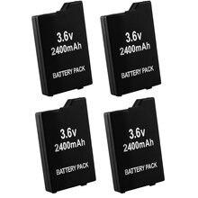 4 шт/лот 2400 мАч запасная батарея для sony psp2000 psp3000