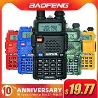 Baofeng UV-5R Walkie Talkie Professionelle CB Radio Station Baofeng UV5R Transceiver 5W VHF UHF Tragbare UV 5R Jagd Schinken radio