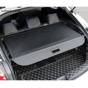 Image 2 - Per Toyota C HR CHR 2016 2017 2018 2019 2020 di Copertura Della tenda partizione tronco partizione tenda Posteriore Rastrelliere Car styling accessori