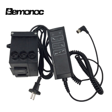 Bemonoc Input AC220V For Two Linear Actuator Controller With DC 24V Power Supply Electric Adapter For Linear Actuator Gear Motor electric linear actuator motor stroke 1200mm 48inches 24v 900n 198lb high quality electric linear actuator motor