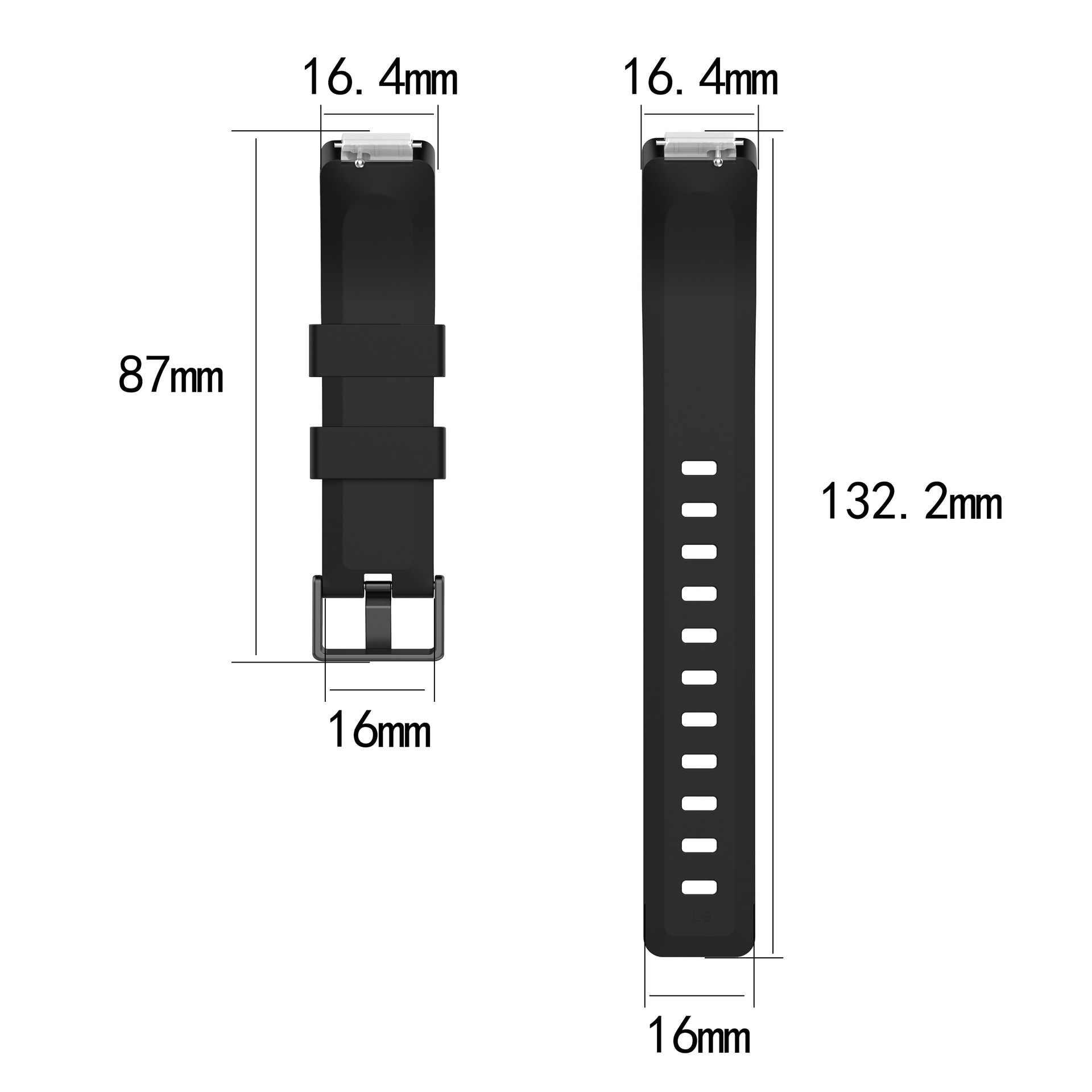 Horloge Band Voor Fitbit Inspire HR Activiteit Tracker Polsband Metalen gesp Vervanging Silicon Strap Armband Voor FItbit Inspire