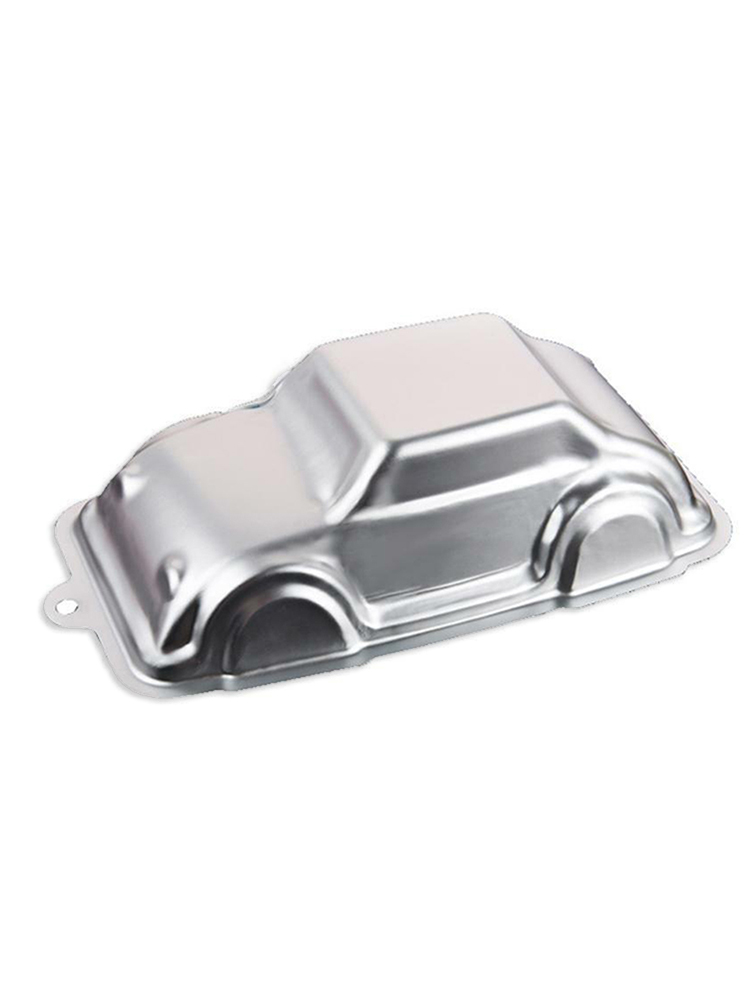 DIY car shaped cake mold aluminum alloy oxidation resistance Fondant cake Chocolate mold kitchen baking tool|  - title=